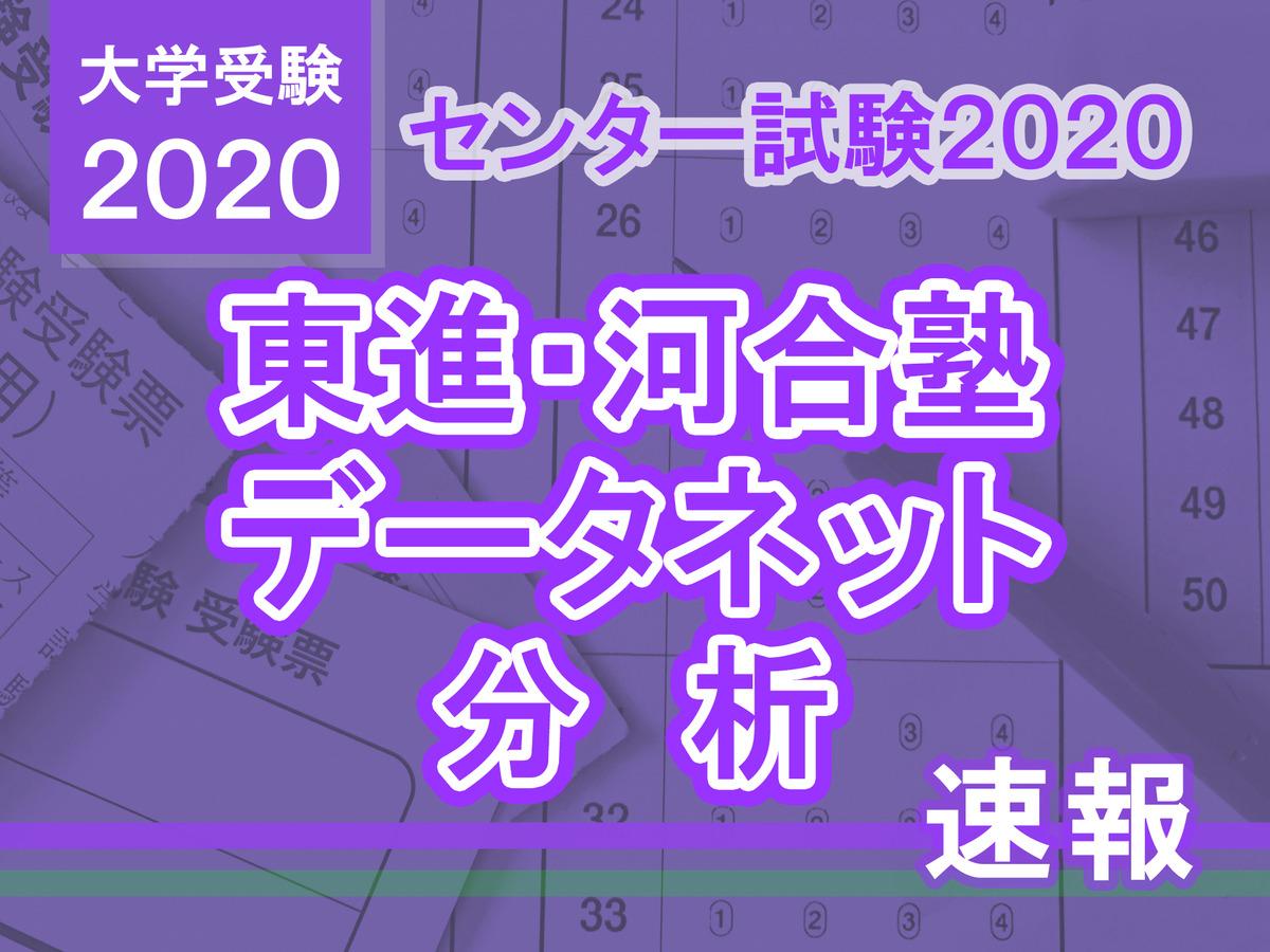 解答 速報 2020 駿台