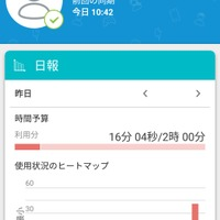 「ESET Parental Control for Android」利用画面(保護者用)